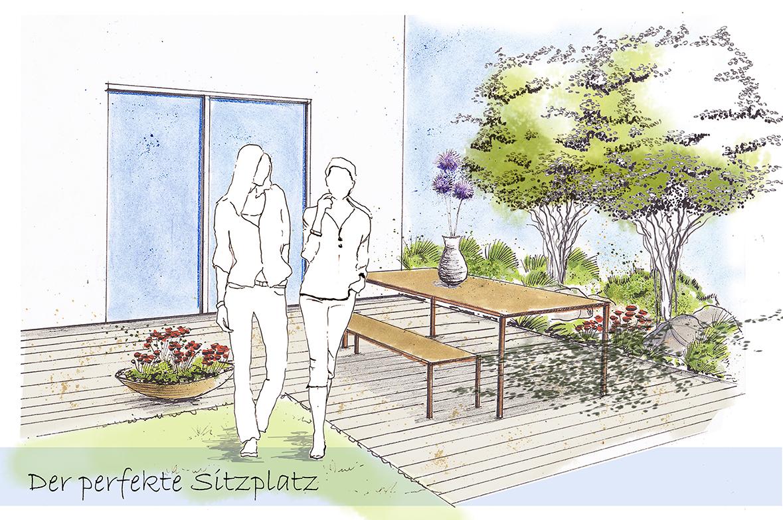 Wunderbar Sitzplatz Garten Sammlung Von Wie Sie Den Perfekten In Ihrem Schaffen